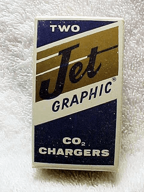 CO2 Chargers for Graphic Jet Cameras