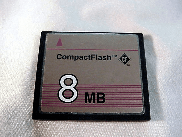 <center><u>Compact Flash<br>Cards<br>New and Used</u></center>