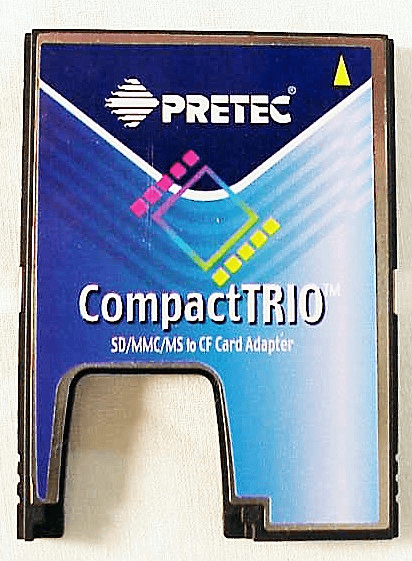 CompactTRIO Card Reader for SD MMC MS and CF Cards