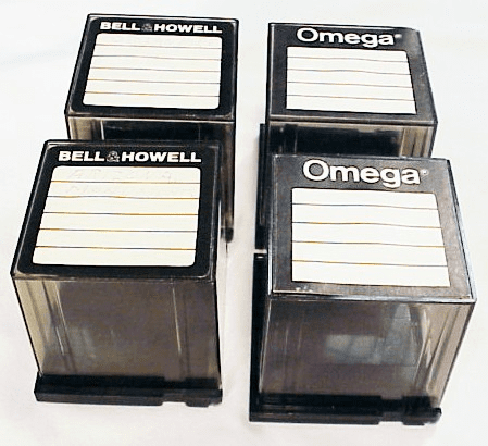 Cubes for the Bell & Howell Cube Projector (4 cubes)