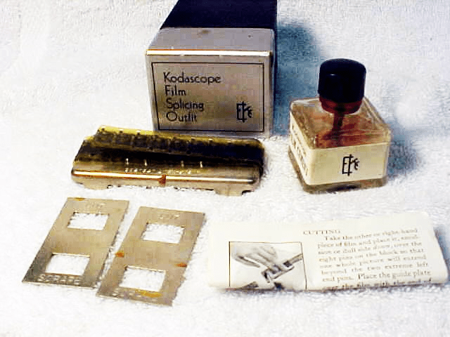 EKC Kodascope 16mm Film Splicing Outfit (c. 1935)