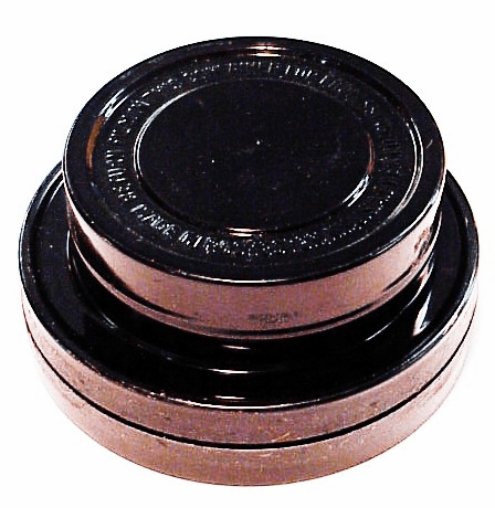 Empty 16mm film cans (2)