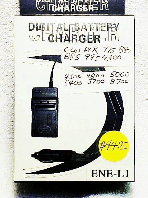 ENEL1 generic brand Battery Charger for Coolpix ....