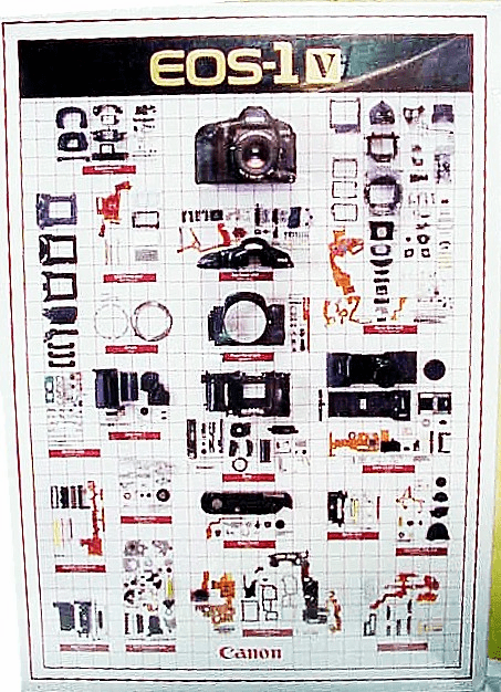 EOS 1 V Camera Body Puzzel  from Canon (new)
