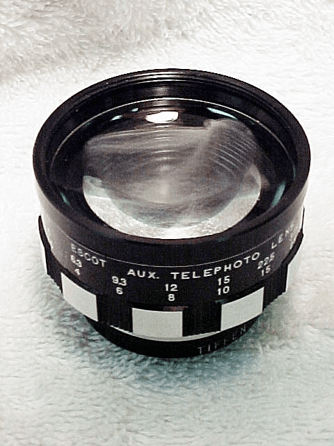Escot Telephoto Auxillary Lens for Argus C3 (No10)