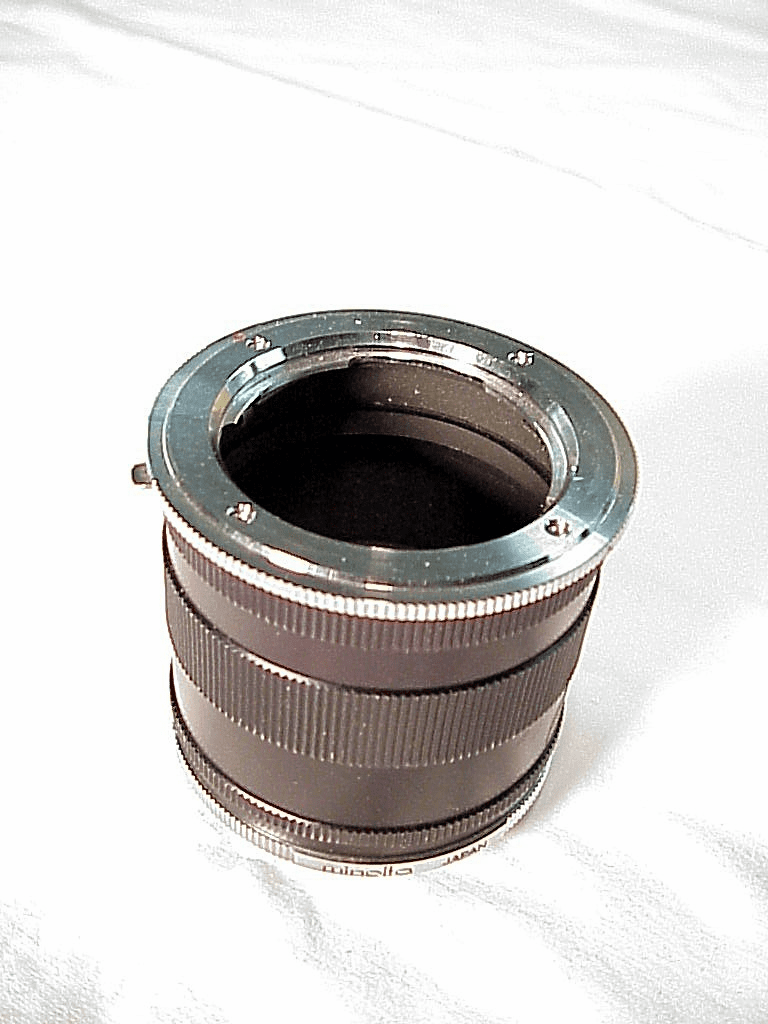 Extension Tube Set Minolta Brand for Minolta SR (No 39)