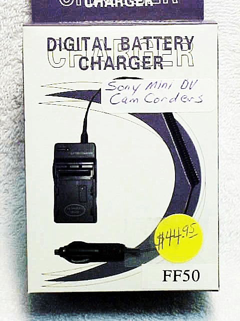 FF50 generic brand Battery Charger for Sony Camcorder and Mini DV
