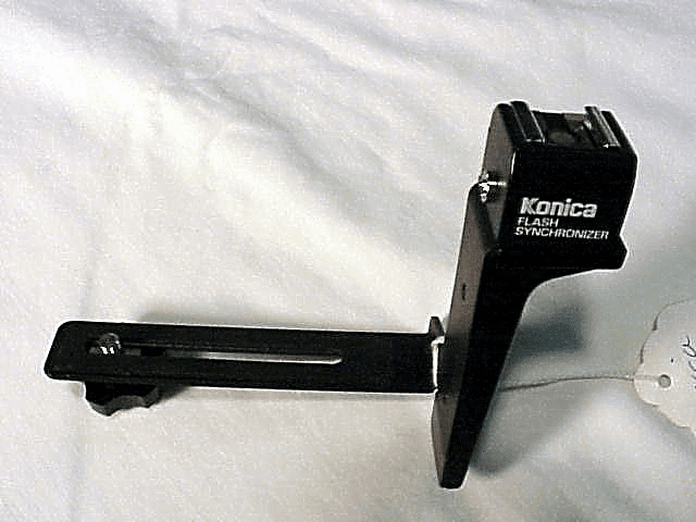 Flash Bracket with a SLAVE for ANY DIGITAL CAMERA (Konica)
