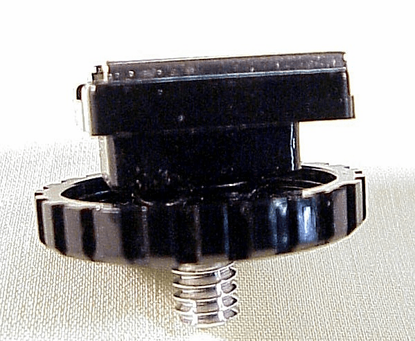 Flash Shoe with a screw fitting on the bottom (No 66)