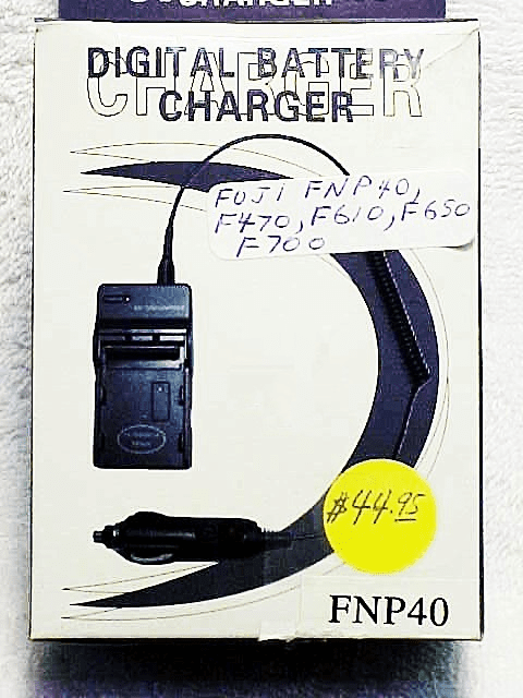 FNP40 generic brand Battery Charger for Fuji.....