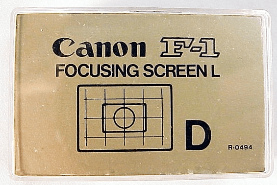 Focusing Screen D (Technical Grid)