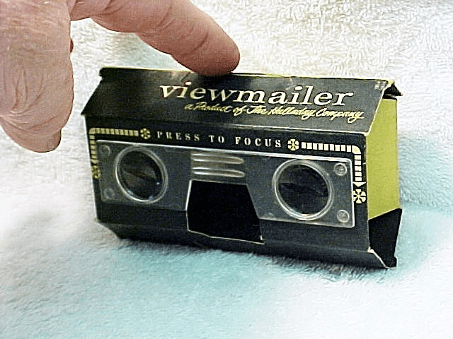 Folding Paper Stereo Realist Viewer (Disposable)