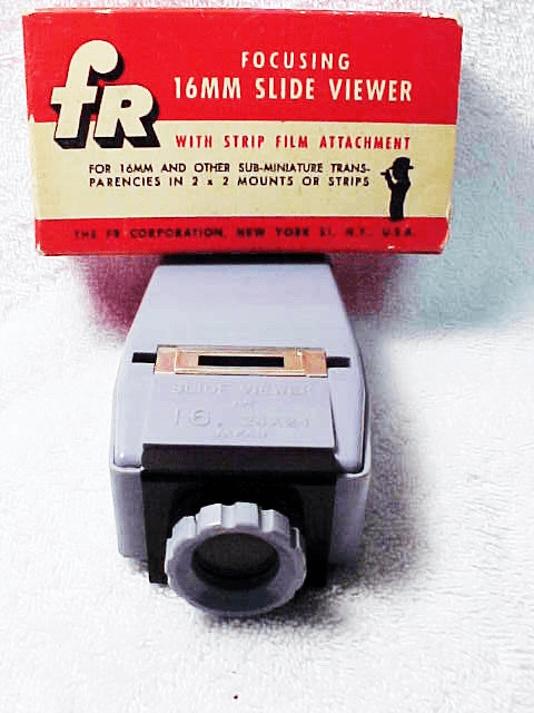 FR 16mm Slide Viewer Lighted (battery operated)