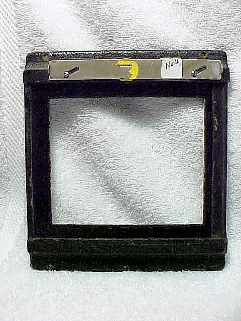 Graflex Back Frame for Graphic 4x5 Cameras (No4)