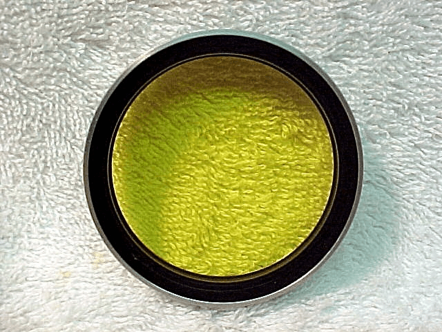 Green 2 49mm Voigtlander filter with INSIDE screw on threads