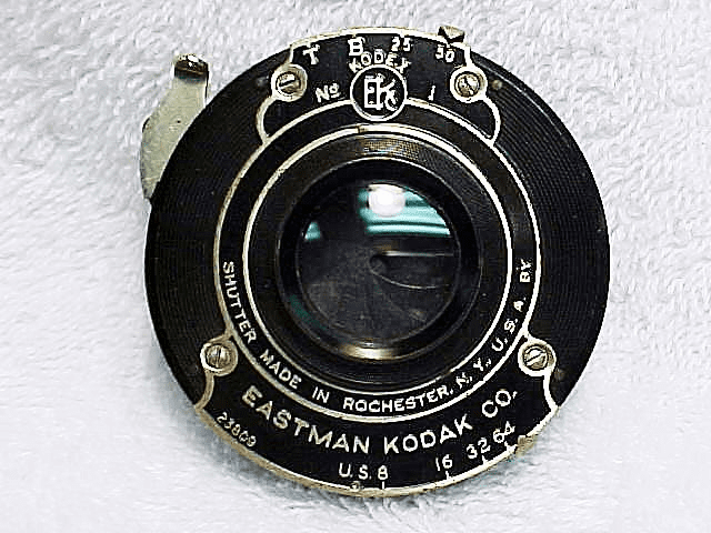 Hawkeye  Lens in EKC Shutter with mounting ring