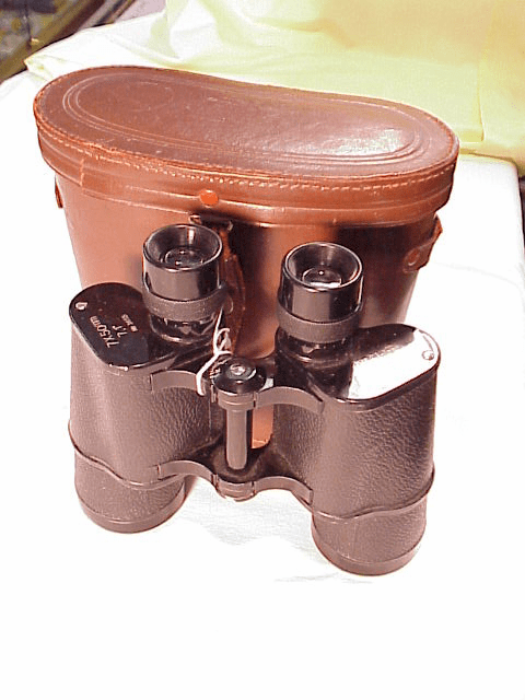 Hope 7x50 Metal Binoculars with leather case