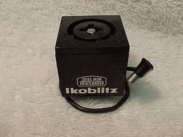 Ikoblitz Bulb Flash with Cord for Flash Cubes