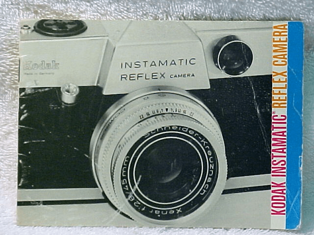 Instamatic Reflex Camera Instructions (original booklet)
