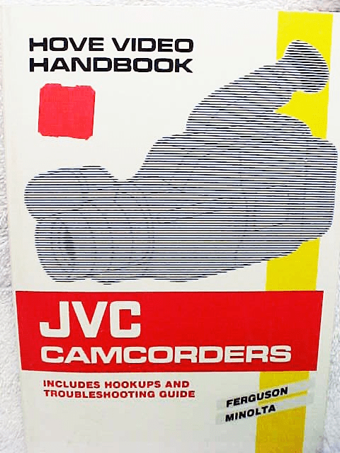 JVC Camcorders. Hove Press 152pgs 1991