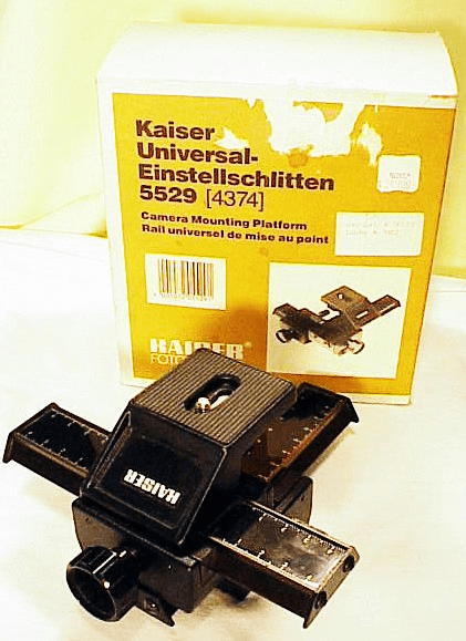 Kaiser (made in Germany) Double Adjusting Macro Stage (new)