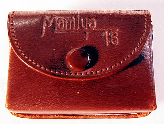 Leather Case for Mamiya Super 16