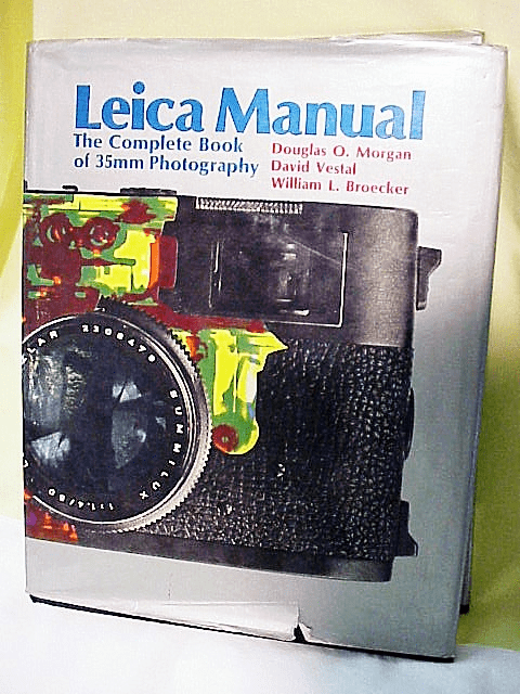 Leica Manual, by Morgan, 15th Ed ,1973, (covers to M5),528 pgs