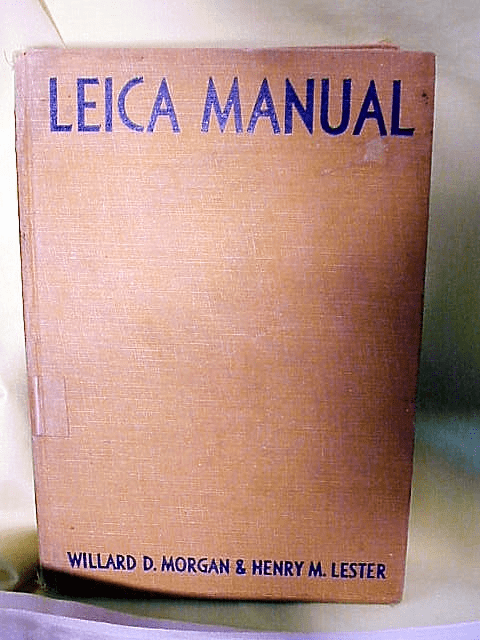 Leica Manual by Morgan and Lester , 428pgs
