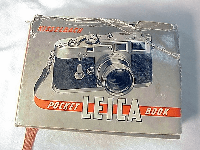 Leica Pocket Book by Kisselback, 2nd ed, 1952, 223pgs