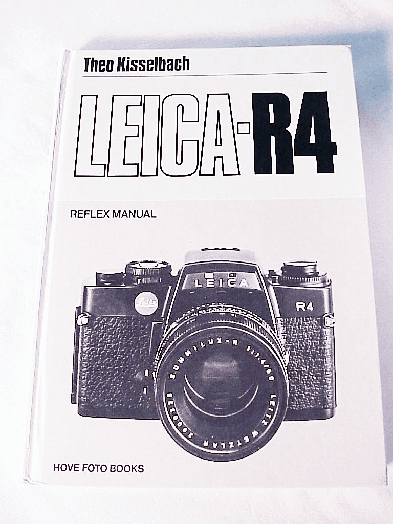 Leica R4 Book by Teo Kisselback Hove Press,152pg,1981