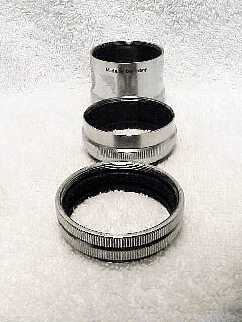 Leica Screw Mount Extension tubes (No 9)