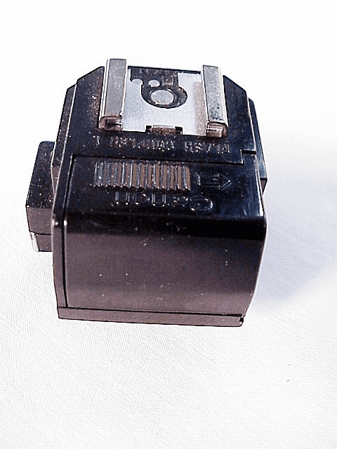 Lighted Flash Coupler L for Canon F1 mechanical