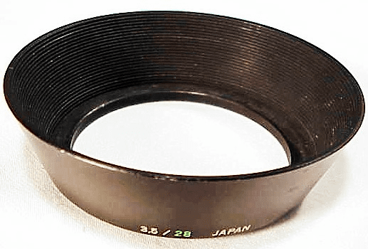 Metal Hood for Olympus 28mm f3.5 lens