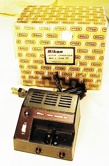 MH-1 Nikon Charger for F2 Motor Drive