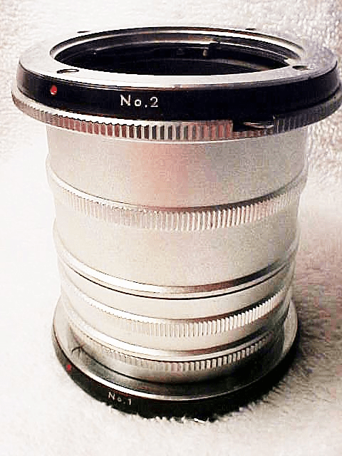 Minolta Brand Extension Tube Set (No 48)