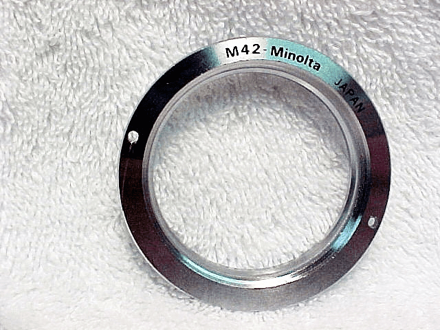 Minolta MD to Pentax Screw Mount Lens Adapter Ring