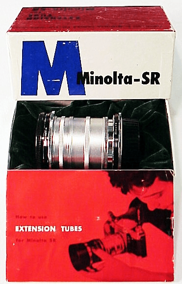 Minolta SR Exentsion Tube Set (also X and SRT Series)