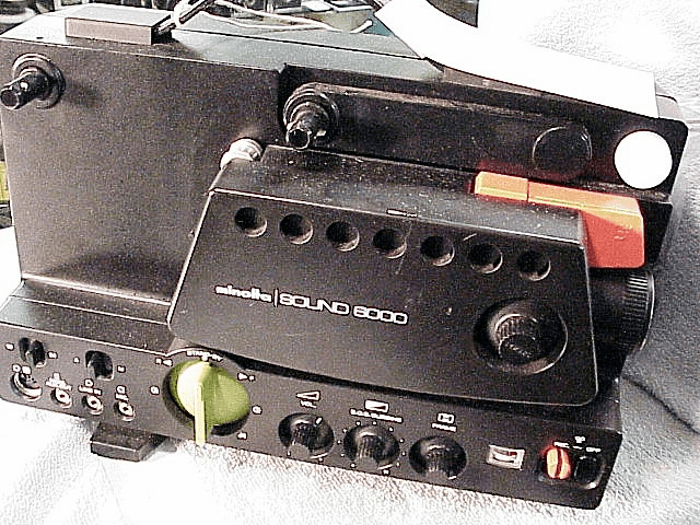 Minolta Sup 8 Sound Projector (See Rental Section)