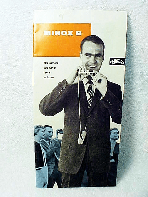 Minox B Booklet; 18pgs, 1967,  Covers the System (xerox)