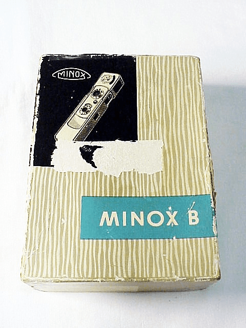 Minox B Box & Plastic Box (Inside)