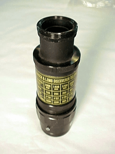 MIZAR focusing adapter with B&L T Mount extension tube (fits?)