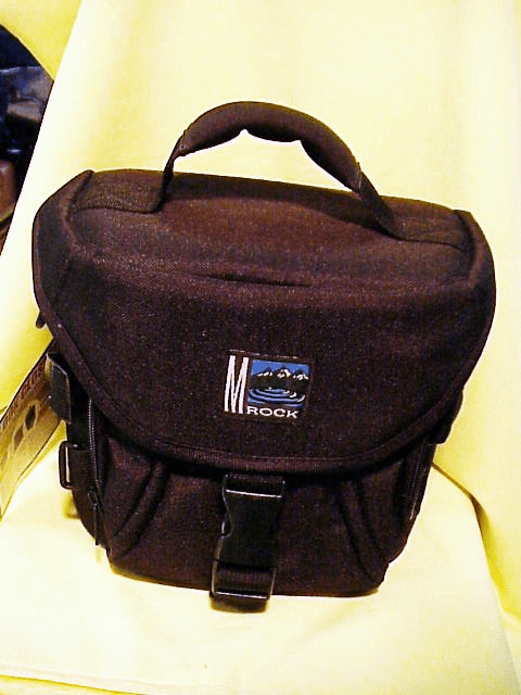 Mrock Camera Bag  (will also work as a backpack)  (No 39) NEW