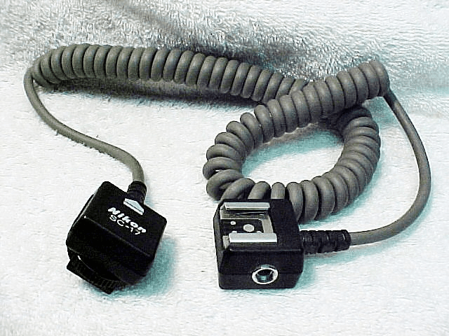 N90S Off Camera Flash Extension Cord