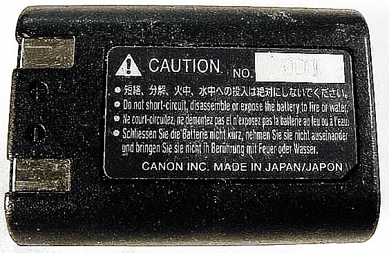 NB-5H Canon Nicad Battery (used)