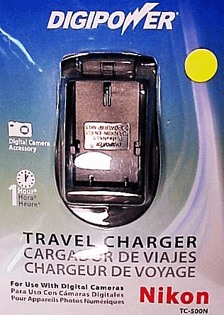 Nikon Digipower Travel Chargers for Digital Batteries (new)