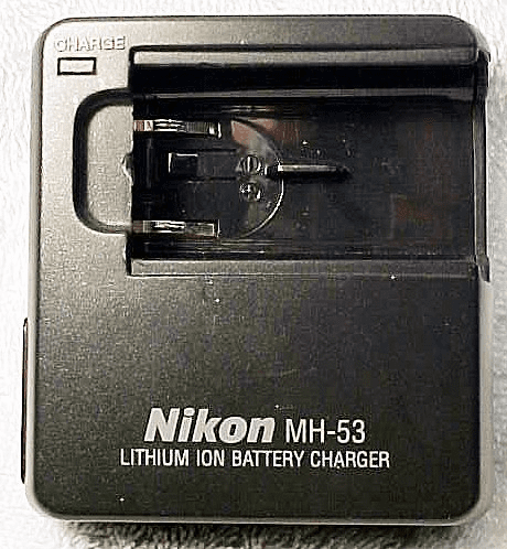 Nikon MH-53 Battery Charger for ENEL-1 (no cord)  for Coolpix....