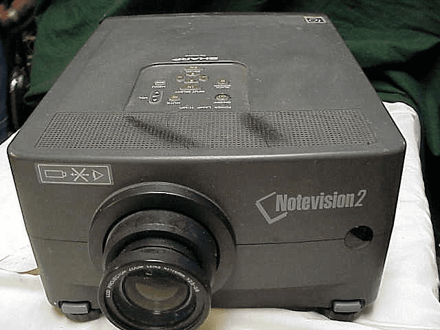 Note vision 2 Digital Projector with all the cables