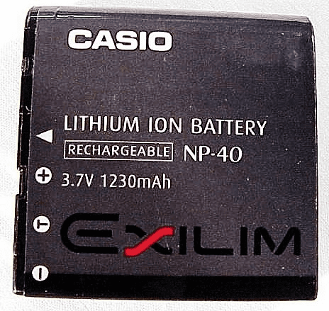 NP-40 Casio Nicad Battery (used)