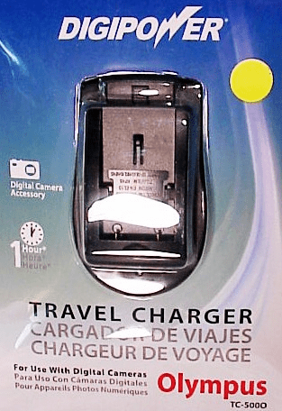 Olympus Digipower Travel Chargers for Digital Batteries (new)