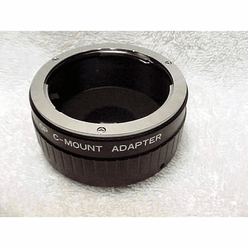 Olympus lenses to C mount adapter